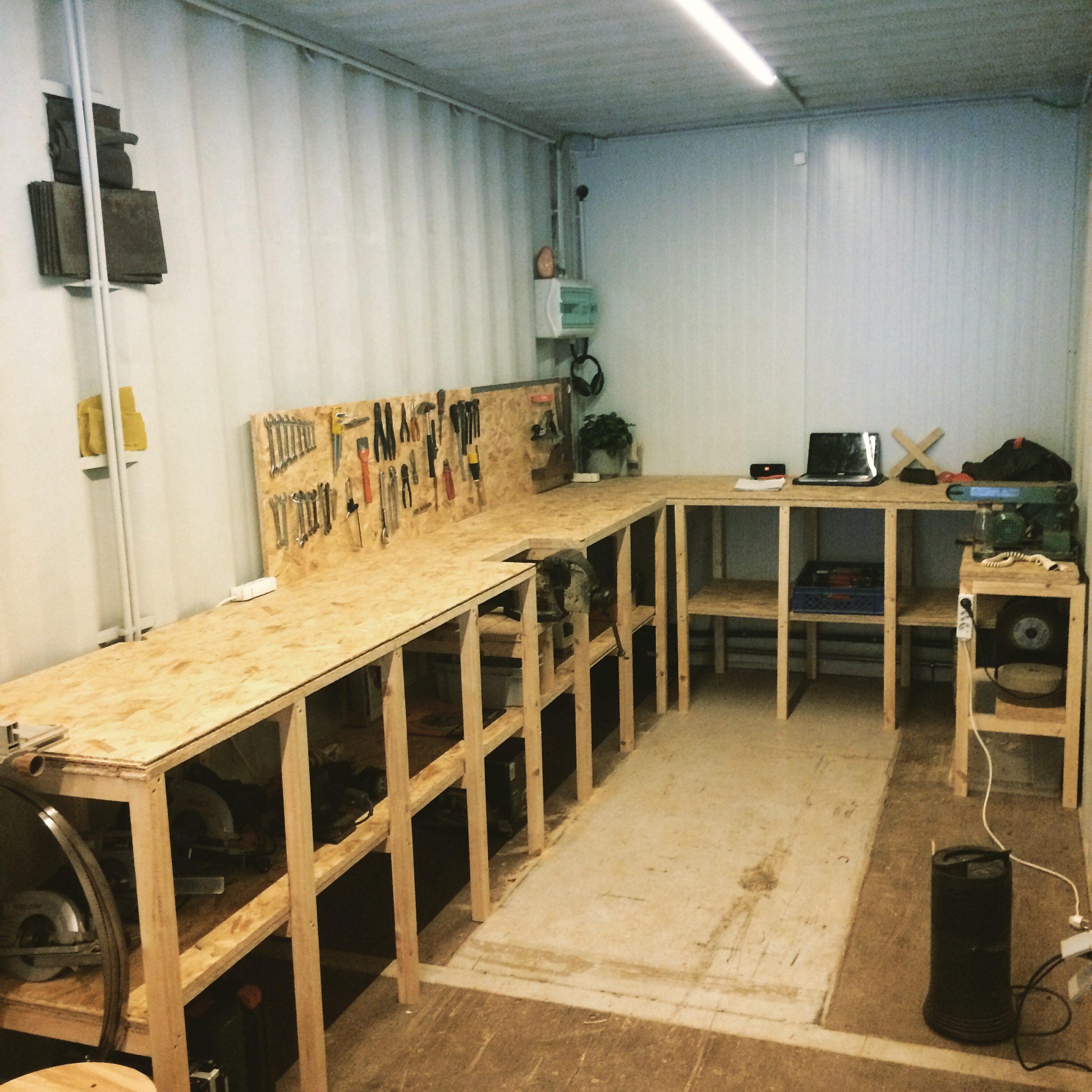 Van container tot atelier