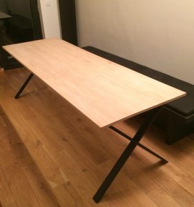 Dining table L.K. – 10/2019