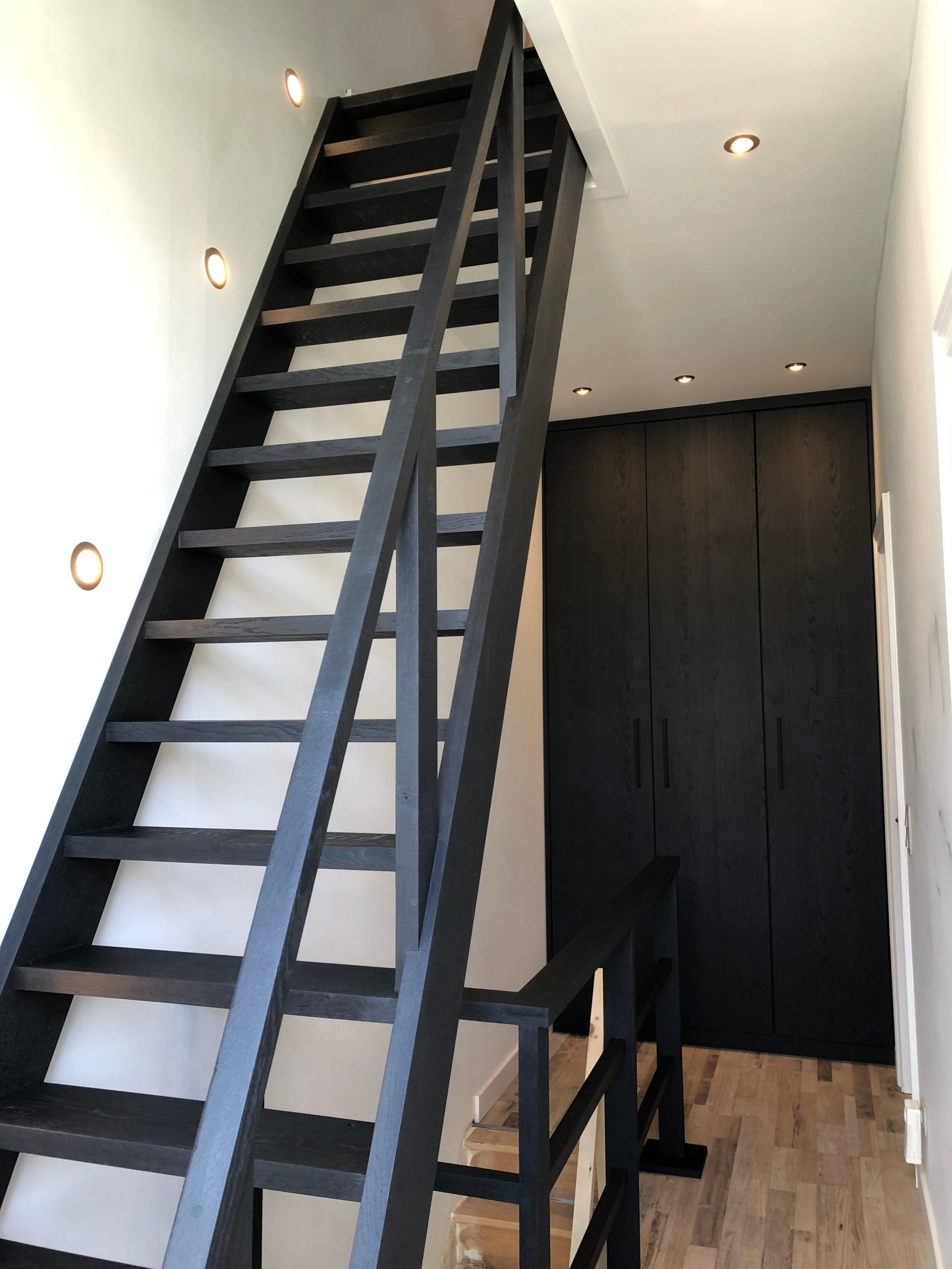 Straight stair & balustrades D.K. – 07/2021
